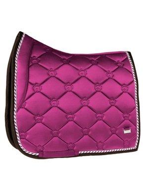 Ps Of Sweden Monogram Saddle Pad  Dressage Lilac