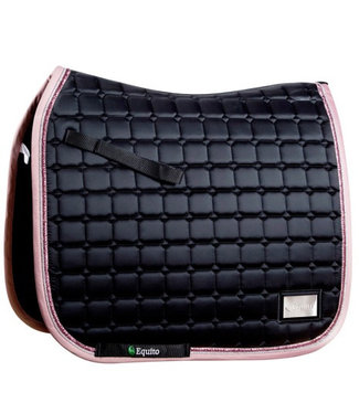 Equito Saddle Pad - Black Pink - Dressage