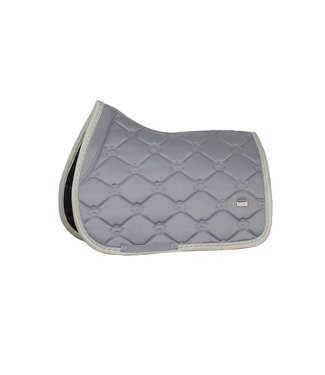 Ps Of Sweden Saddle Pad Monogram Minimal Grey Jump