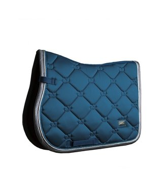 Equestrian Stockholm Jump saddle pad Moroccan Blue