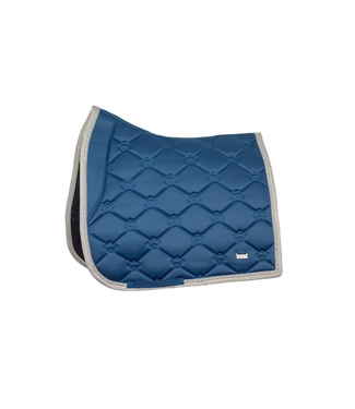 Ps Of Sweden Saddle Pad Monogram Teal Dressage