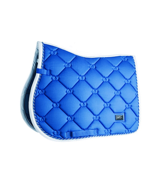 Equestrian Stockholm Jump Saddle pad Sapphire