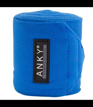 BR Fleece Bandages Cossack Blue