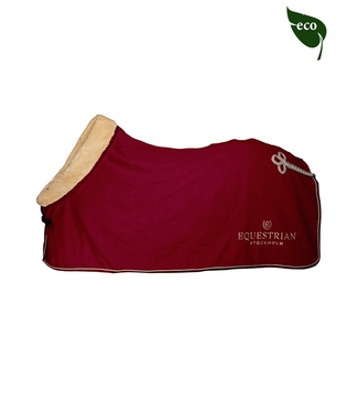 Equestrian Stockholm BORDEAUX FLEECE RUG