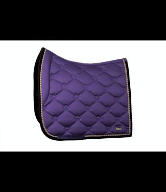 Ps Of Sweden Saddle Pad Violet, Monogram