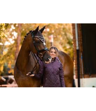 Ps Of Sweden Riding Jacket, Gina, Wine