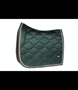 Ps Of Sweden Saddle Pad Monogram Emerald Dressage