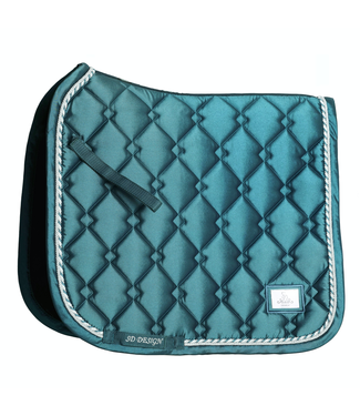 SD SD® GEM COLLECTION SADDLEPAD IN GREEN JADE.