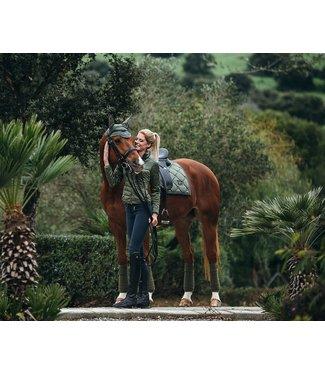 Equestrian Stockholm Fleece Bandages Spring Olive