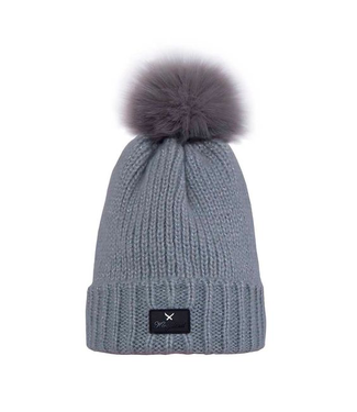 Kingsland Laboulaye Knitted Hat Ladies Light Grey