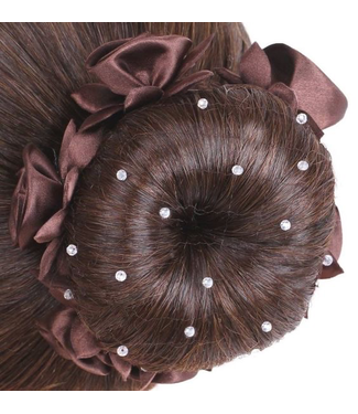 SD Hairnet With Crystal Beads