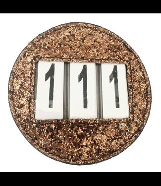 Equito Number Holder - Bronze