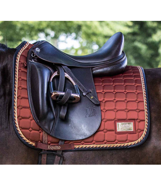 Equito Saddle Pad - Rusty Rose Gold VS