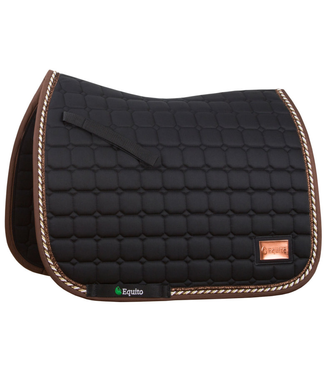 Equito Saddle Pad - Black Bronze - Dressage