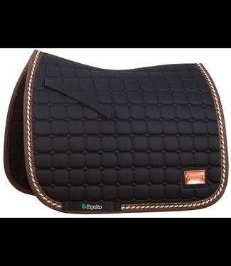 Equito Saddle Pad - Black Bronze - VS Full