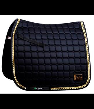 Equito Saddle Pad - Black Gold - Dressage