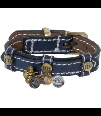 Happy-House Collar Fashion blue