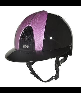 KEP Cromo Polish Black, Pearl Empire Pink Snake Front