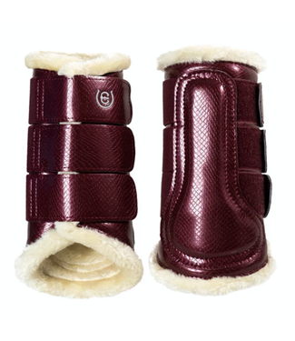 Equestrian Stockholm Brushing Boots Back + Front