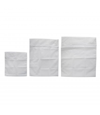 Kentucky Washing Bags White Set of 3 S,M,L