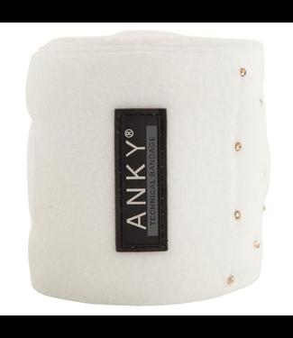 Anky Fleece bandages ATB001 Snow White