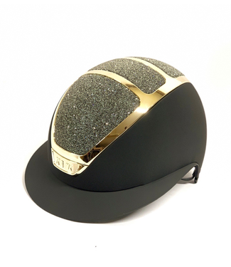 Kask Star Lady Gold, Black, Swarovski Carpet