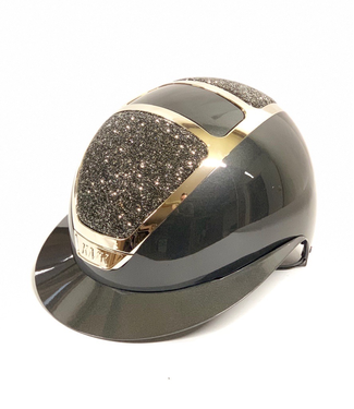 Kask Star Lady Pure Shine Chrome, Anthracite, Swarovski Midnight