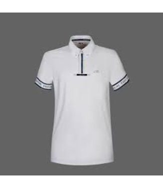Equiline Men Polo Competition Short Sleeve Pirite