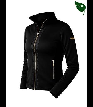 Equestrian Stockholm Fleece Black Edition Gold