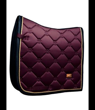 Equestrian Stockholm Saddle pad Purple Gold