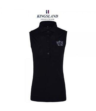 Kingsland Amber Ladies Technical Pique Polo Mouwloze top