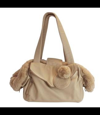 Happy-House Luxury Dog Carrier Bag Beige