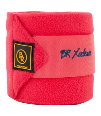 BR Fleece bandages Xcellence Teaberry