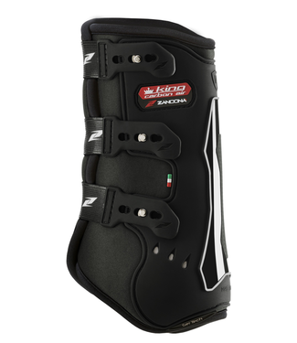 Zandona Dressage Boots King Carbon Air Front black