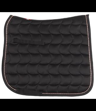 Zilco Bracelet Trim Dressage Saddlecloth - Black