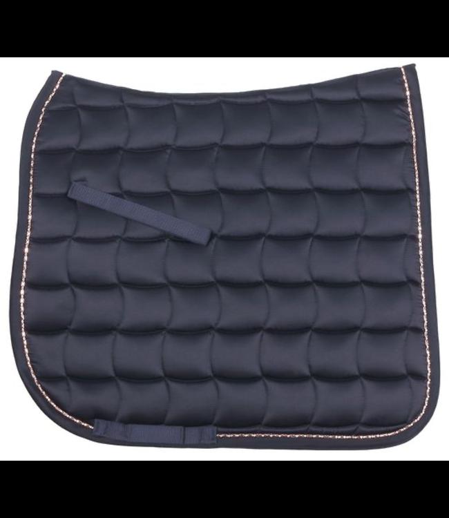 Zilco Bracelet Trim Dressage Saddlecloth - Navy
