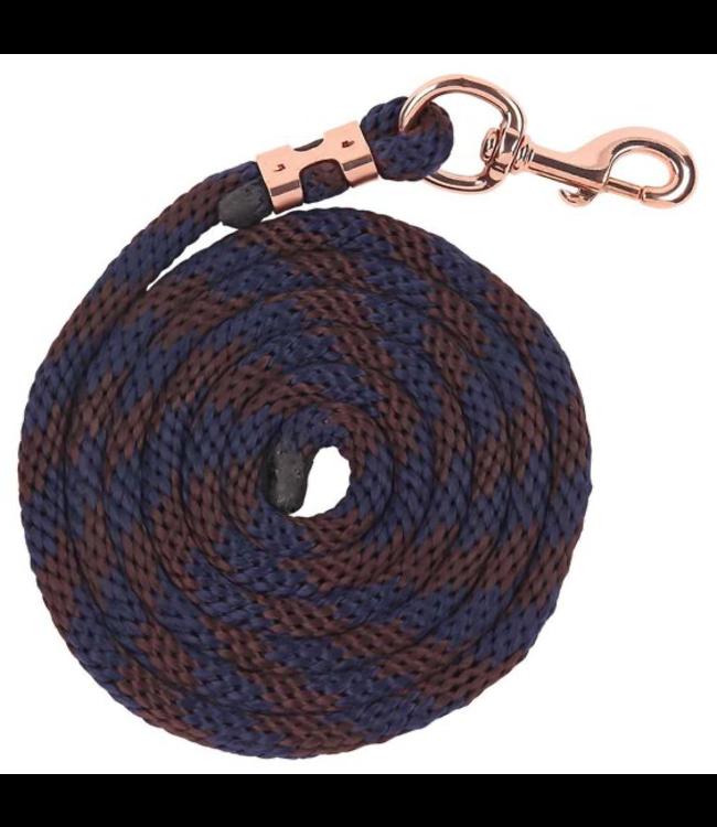 Zilco Bracelet Braided Lead - Navy/Brown