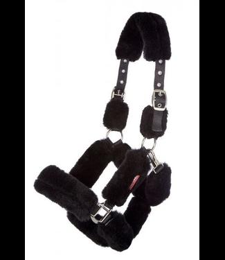 Le Mieux Merino+ Fully Lined Headcollar Black