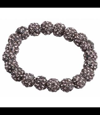 SD Small Diamond Scrunchie in Gray Diamond