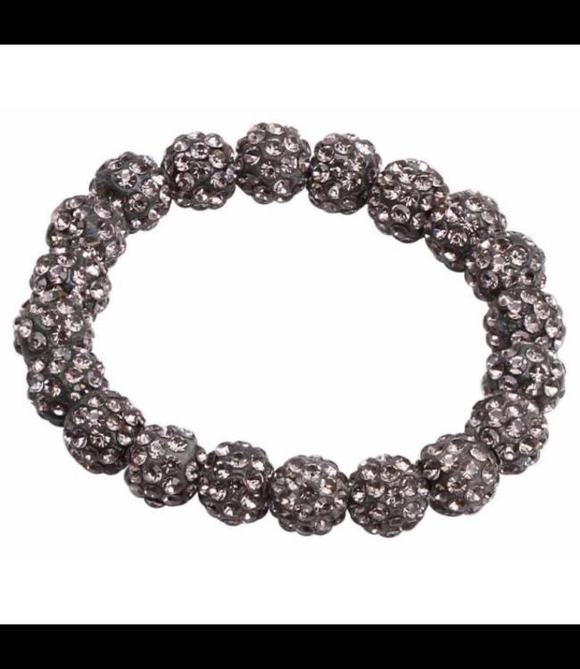 SD Small Diamond Scrunchie in Grey Diamond