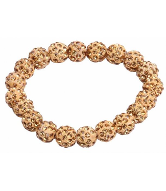 SD Small Diamond Scrunchie in Gold Diamond