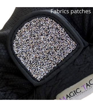 Magic Tack Patches, stoffen