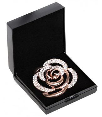 SD DIAMOND ROSE STOCK PIN