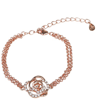 SD DIAMOND ROSE BRACELET. ROSE GOLD