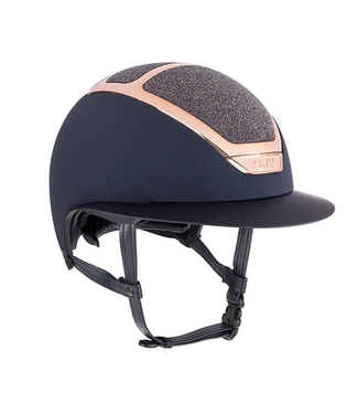 Kask Star Lady Navy, Everyrose Swarovski Midnight Amethyst