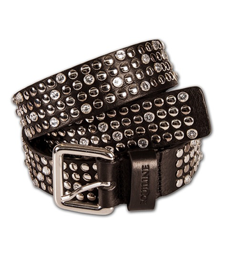 Equiline WOMAN BELT WITH STRASS AGATA