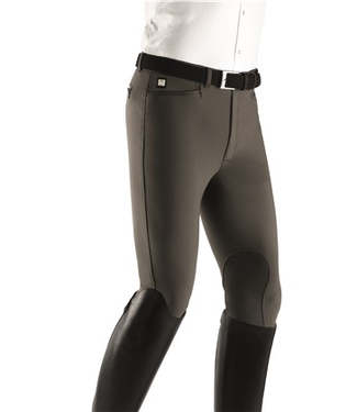 Equiline X-GRIP WILLOW MAN BREECHES WITH GRIP FABRIC KNEE PATCH