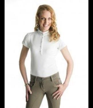 Anna Scarpati Polo Donna Coreana 1/2  sleeve pique