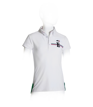 Equiline Boy competition polo shirt Julius