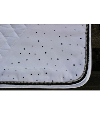 Equest Saddle pad velvet Crystal Diamant twin DR